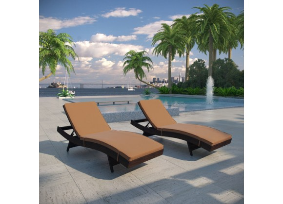 Modway Peer Chaise Set of 2