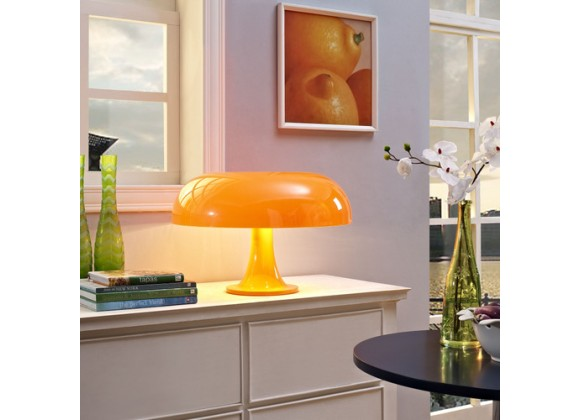 Modway Puff Acrylic Table Lamp