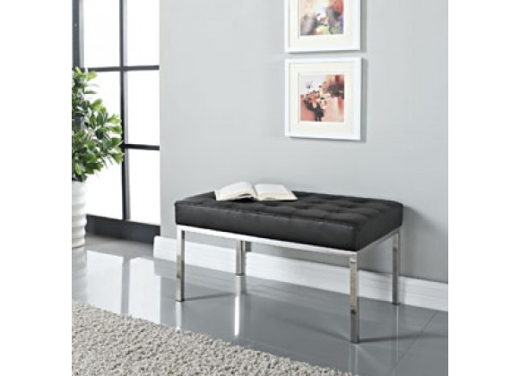 Modway Loft Two-Seater Bench
