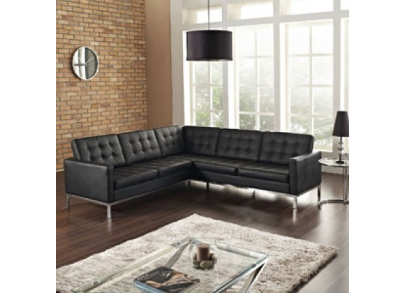 Modway Loft L-Shaped Sectional Sofa