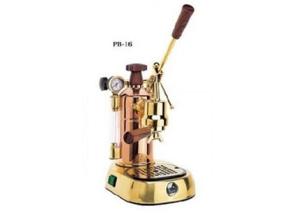 La Pavoni Model PB-16 Capuccino Machine - Copper /Brass