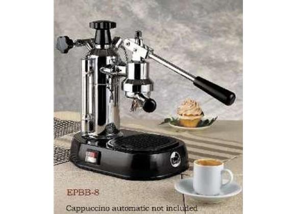 La Pavoni Europiccola Espresso Machine - Chrome/Black