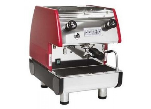 La Pavoni  PUB Espresso Machine 1V-R 1 Group Volumetric - Red