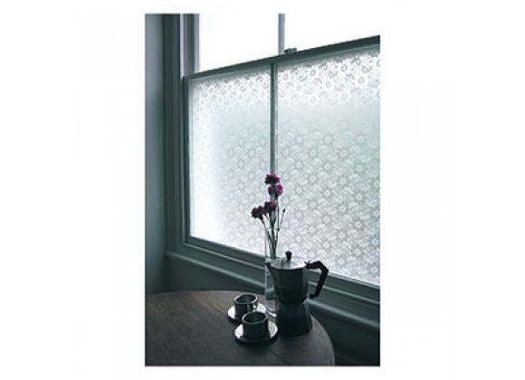 Emma Jeffs Adhesive Window Film, Flowers & Lace