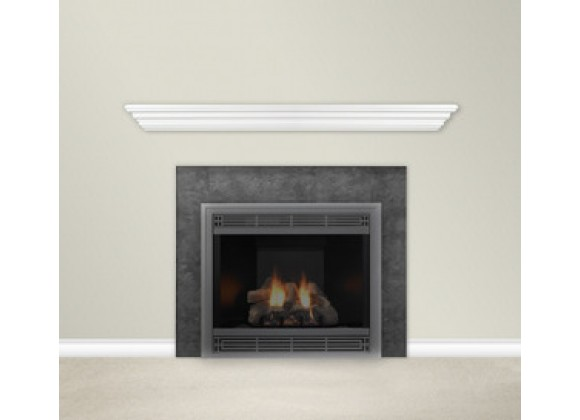 Empire Comfort Systems 60-Inch Finished White Mantel Shelf