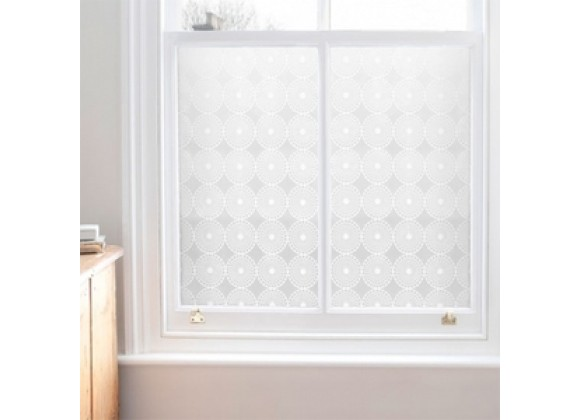 Emma Jeffs Adhesive Window Film - Pearl