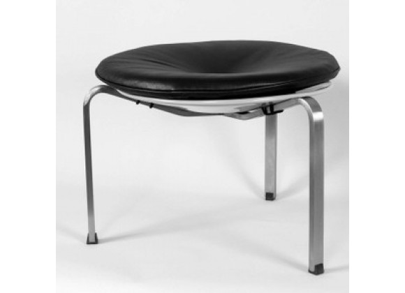 Stilnovo The Hanson Stool - Black/Tan