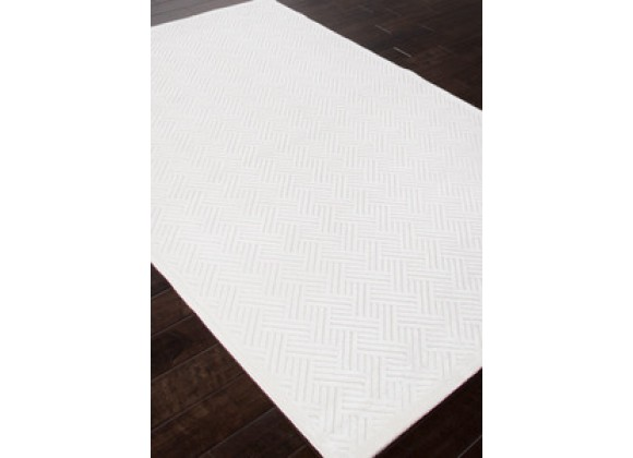 Jaipur Fables Thatch White Rug