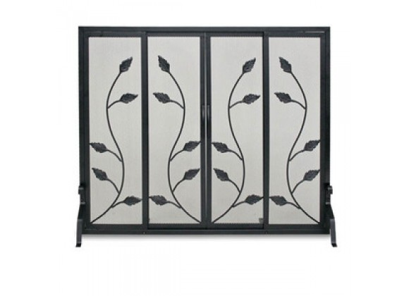 Fireside America Napa Forge Flat Garden Vine Screen with Sliding Doors
