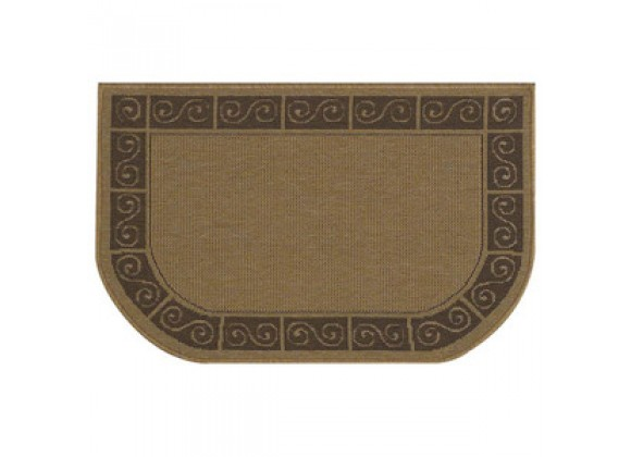 Fireside America Napa Forge Textured Weave Scroll Rug