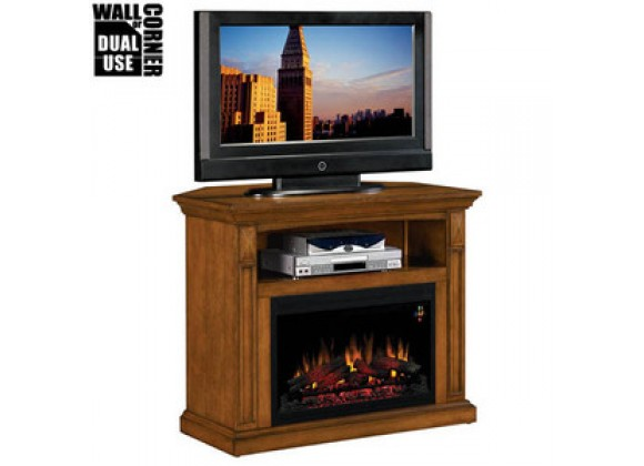Fireside America Classic Flame 26 Inches Fairmont Corner and Wall Media Fireplace