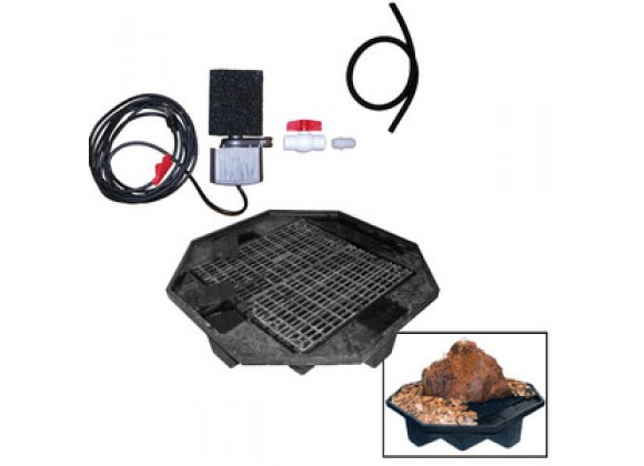Fireside America Hargrove Outdoor 40 Inches Pond-Less Kit With Two Outlets - Kit Only