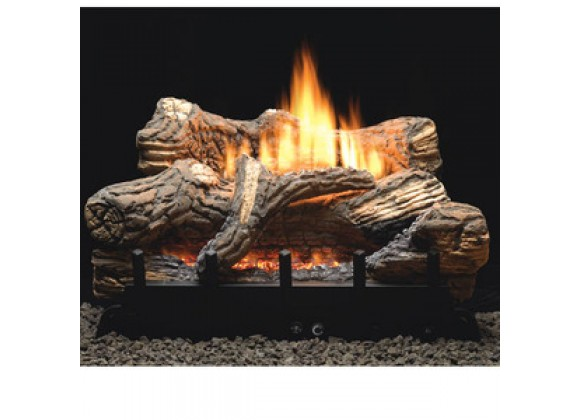 Fireside America White Mountain 18-Inch Flint Hill With Millivolt Control - LP Fuel