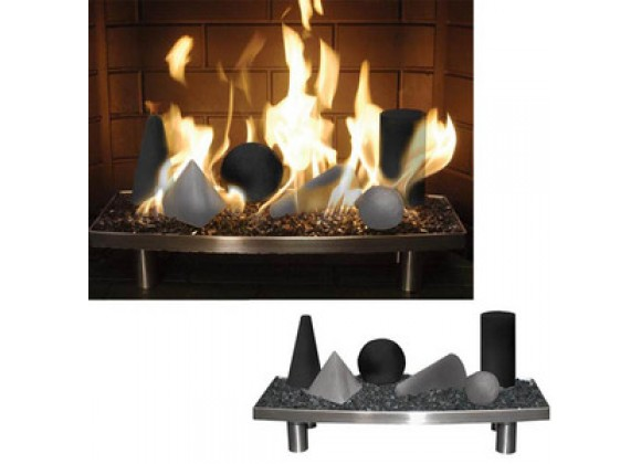 Fireside America Alterna 24 Inches FireShapes for 18 Inches - 22 Inches Burner