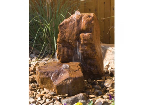 Fireside America Hargrove Outdoor Mesa Sonoma Fountain Kit - Sandstone