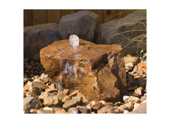 Fireside America Hargrove Outdoor Mesa Fountain Kit - Sandstone