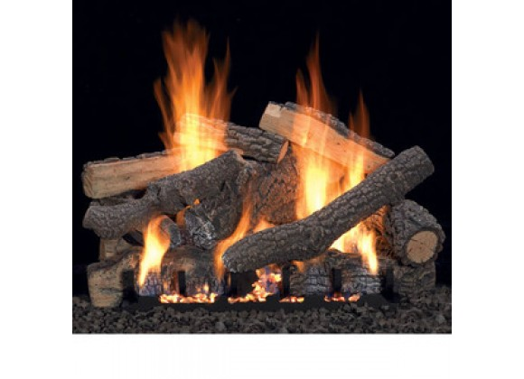 Fireside America White Mountain 24-Inch Ponderosa with Intermittent Pilot - Thermostat Variable Remote - LP Fuel