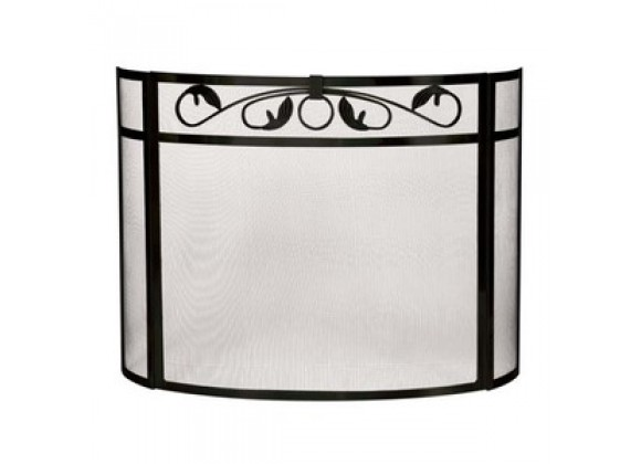 Fireside America Bowed 3 Panel Leaf Screen