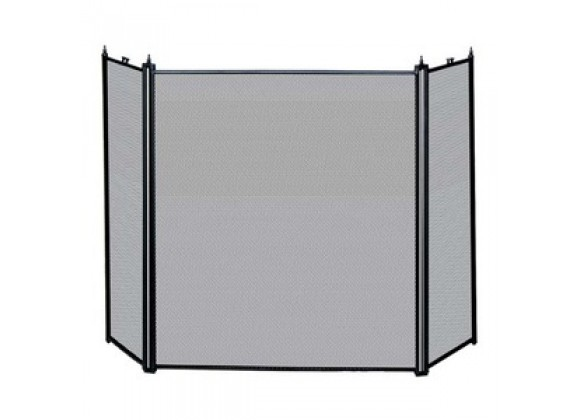 Fireside America 3 Panel Mesh Screen