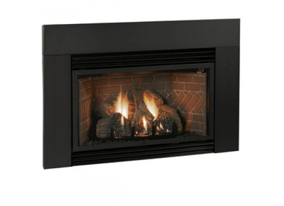 Fireside America White Mountain Innsbrook Classic Surround - Matte Black