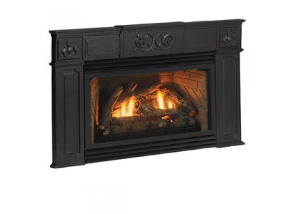 Fireside America White Mountain Innsbrook Traditional Surround - Matte Black