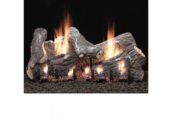 Fireside America 24-Inch White Mountain Sassafras with Intermittent Pilot - Thermostat Variable Remote - NA Fuel