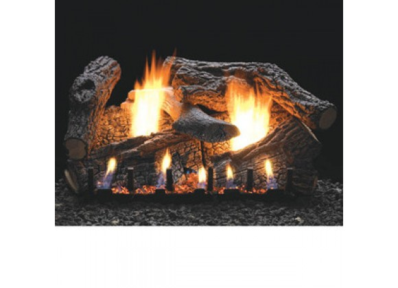 Fireside America White Mountain 30-Inch Super Sassafras with Intermittent Pilot - Thermostat Variable Remote - NA Fuel
