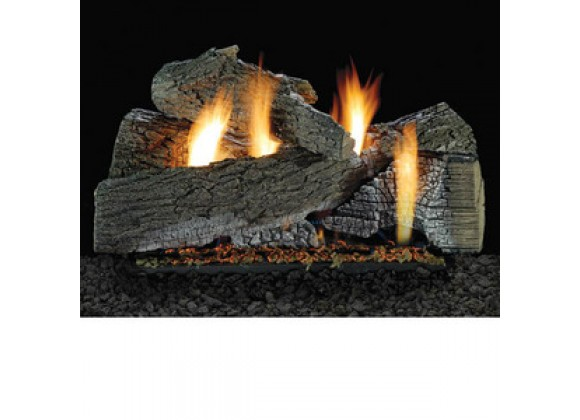 Fireside America White Mountain 24-Inch  Wildwood with Intermittent Pilot - Thermostat Variable Remote - NA Fuel