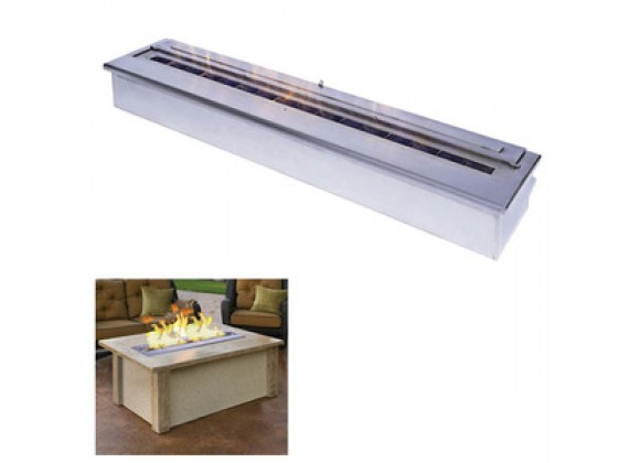 "Fireside America 16"" Linear Bio Fuel Outdoor Burner"