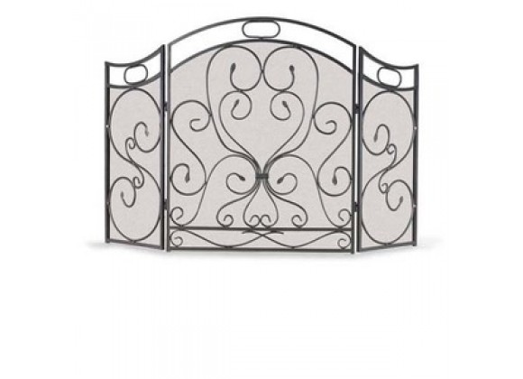 Fireside America Napa Forge 3 Panel Shakespeares Garden Screen