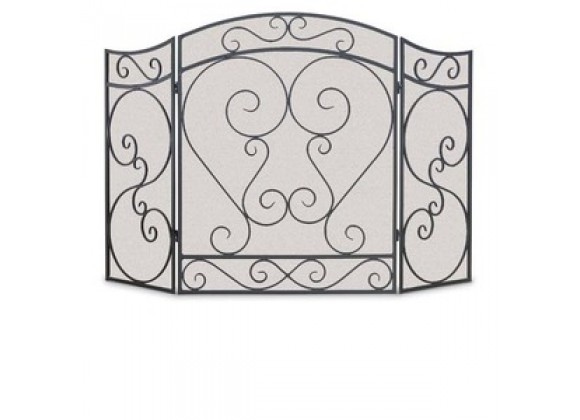 Fireside America Napa Forge 3 Panel Country Scroll Screen