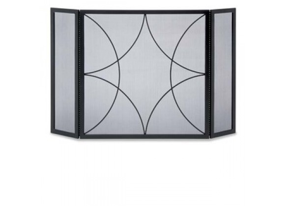 Fireside America Napa Forge 3 Panel Forged Diamond Screen