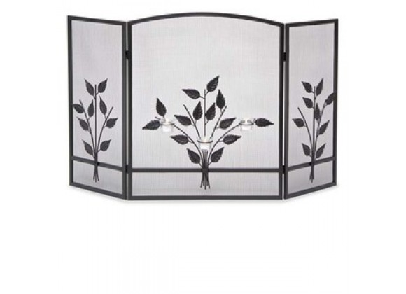 Fireside America Napa Forge 3 Panel Three Tea Light Screen