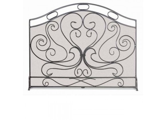Fireside America Napa Forge Single Panel Shakespeares Garden Screen
