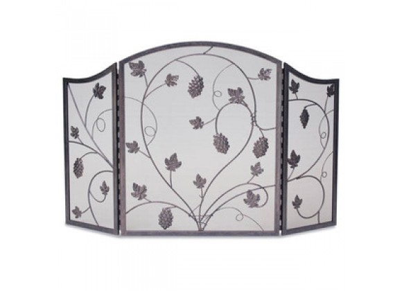 Fireside America Napa Forge 3 Panel Grapevine Screen