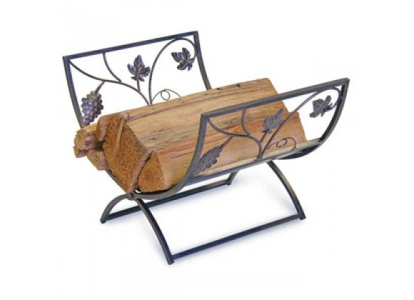 Fireside America Napa Forge Grapevine Wood Holder