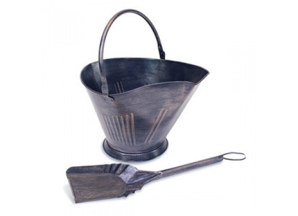 Fireside America Napa Forge Coal/Pellet Bucket with Shovel