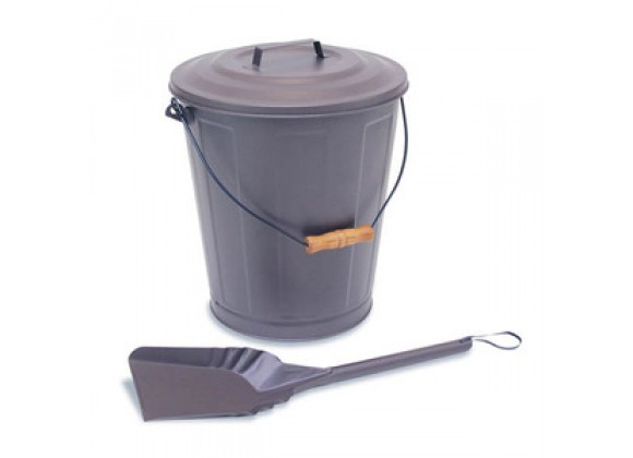 Fireside America Napa Forge Standard Ash Bucket With Lid