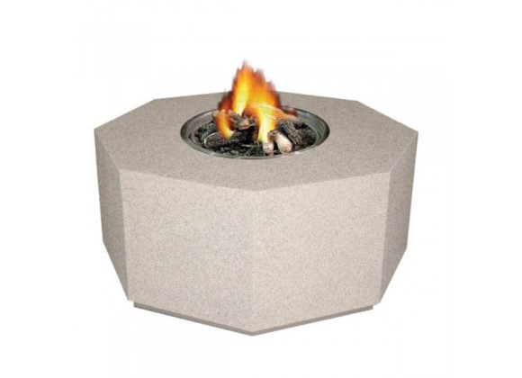 Fireside America Octagon Gas Fire Pit - NA