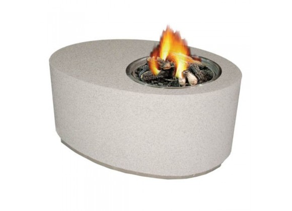 Fireside America Oval Gas Fire Pit - NA