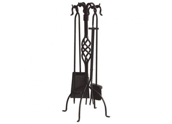 Fireside America UniFlame 5 Piece Wrought Iron Toolset