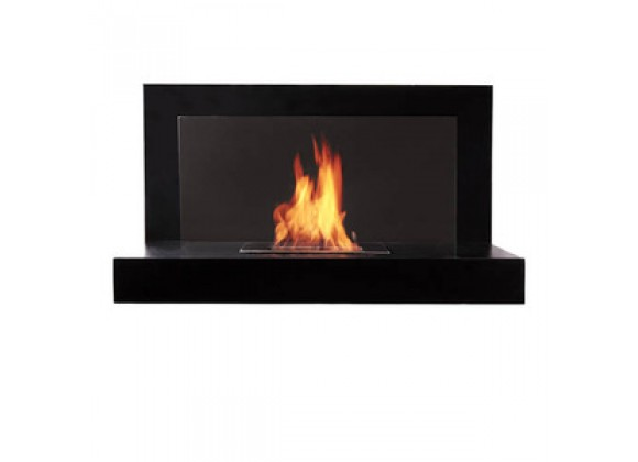 Fireside America Lotte Glass Free Standing Fireplace
