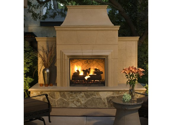 American Fyre Designs Grand Cordova Outdoor Fireplace
