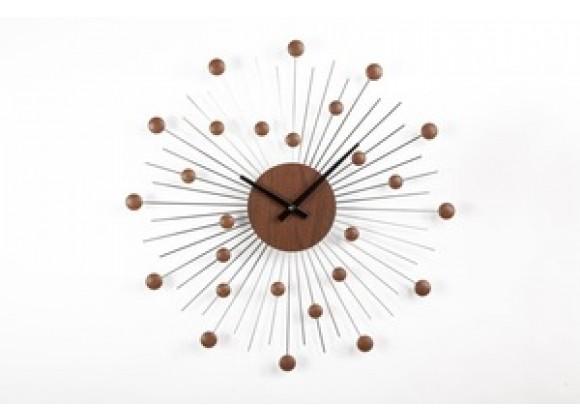 Stilnovo Mid Century Star Clock
