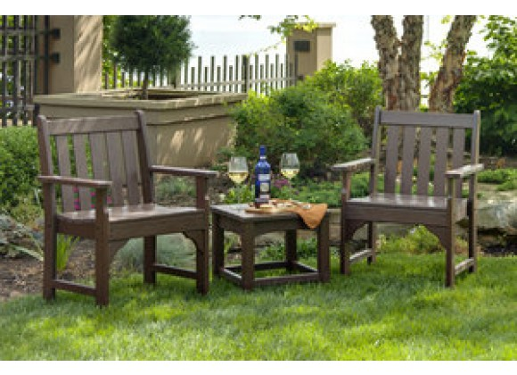 POLYWOOD¨ Vineyard Garden Arm Chair