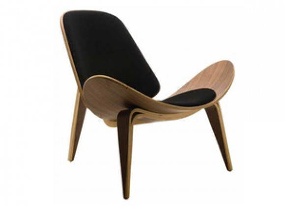 Nuevo Living Artemis Lounge Chair in Walnut