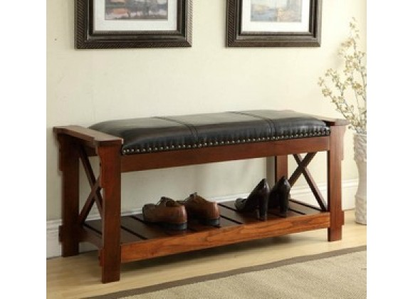 All Things Cedar Entryway Bench - Lifestyle