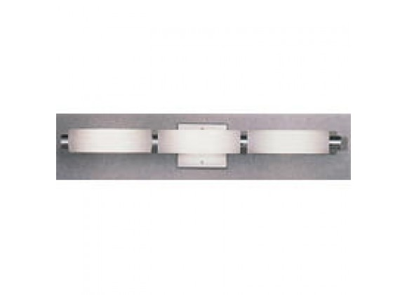 Illuminating Experiences 6 Light Halogen Aluminum Bath Bar
