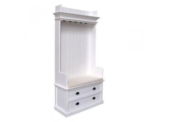 Nova Solo HALIFAX White Mahogany Wardrobe