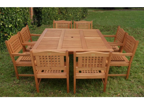 International Home Miami Amazonia Milano Square Porto Table Set